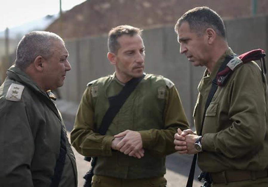 Aviv Kochavi (L) and Gadi Eisenkot (R)