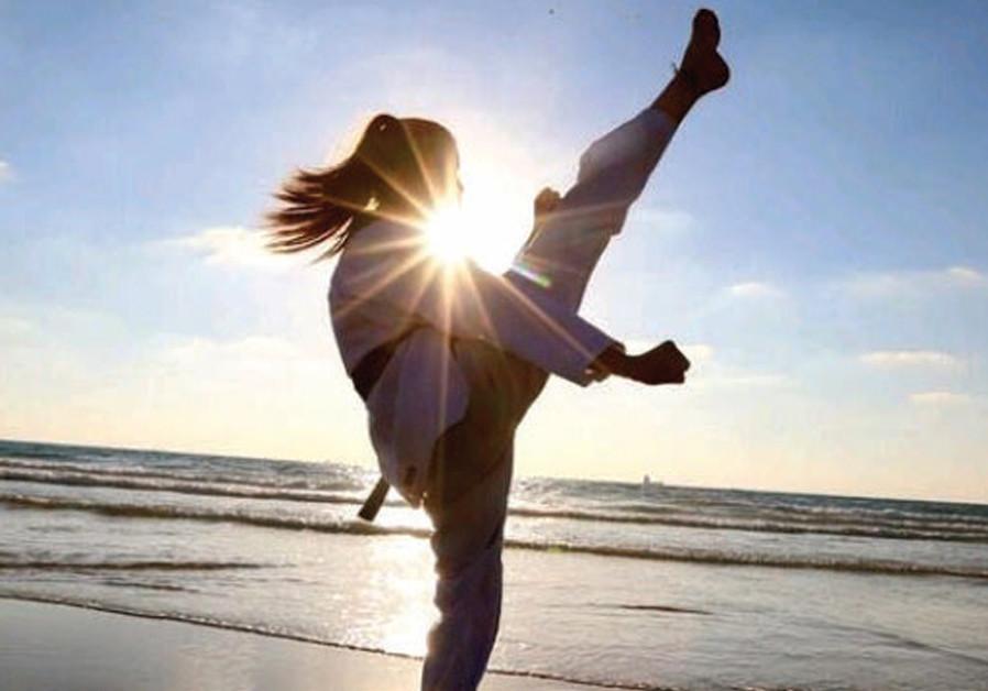 Young Taekwondo champion fights BDS