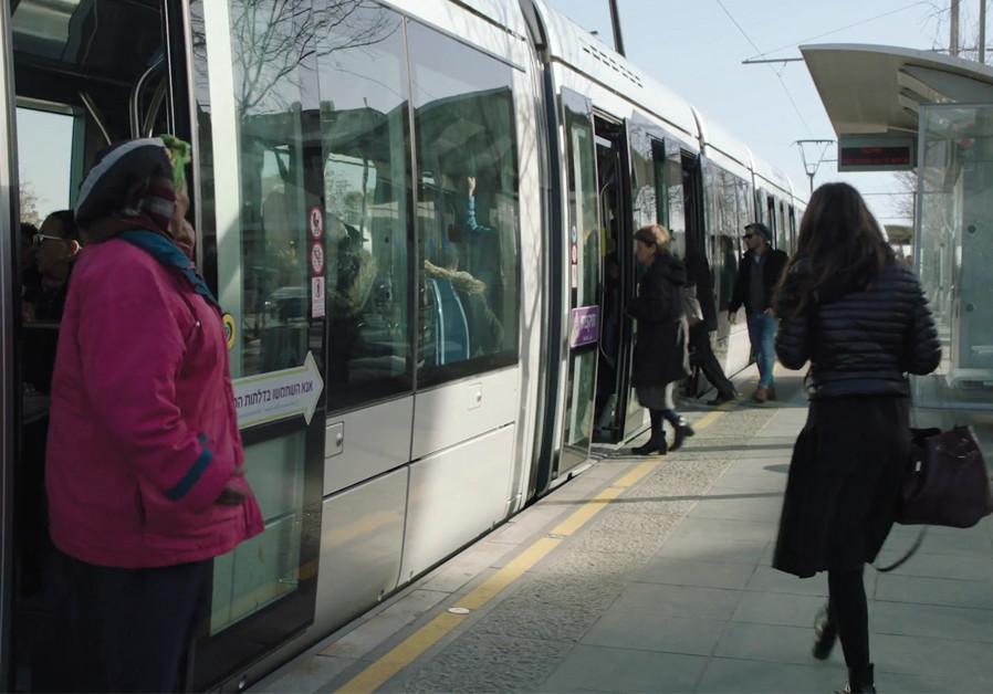 Amos Gitai's  'A Tramway in Jerusalem'
