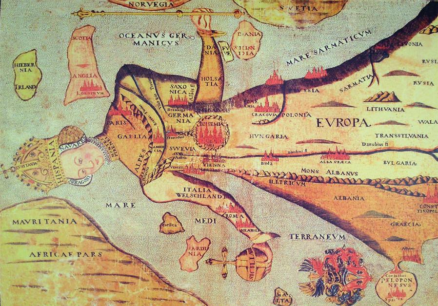 Map Of Europe Without France.The Resurfacing Of European Colonialism Diaspora Jerusalem Post