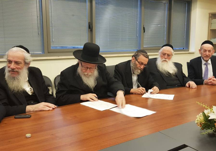 Litzman warns Gantz: Anti-haredi program will be his demise