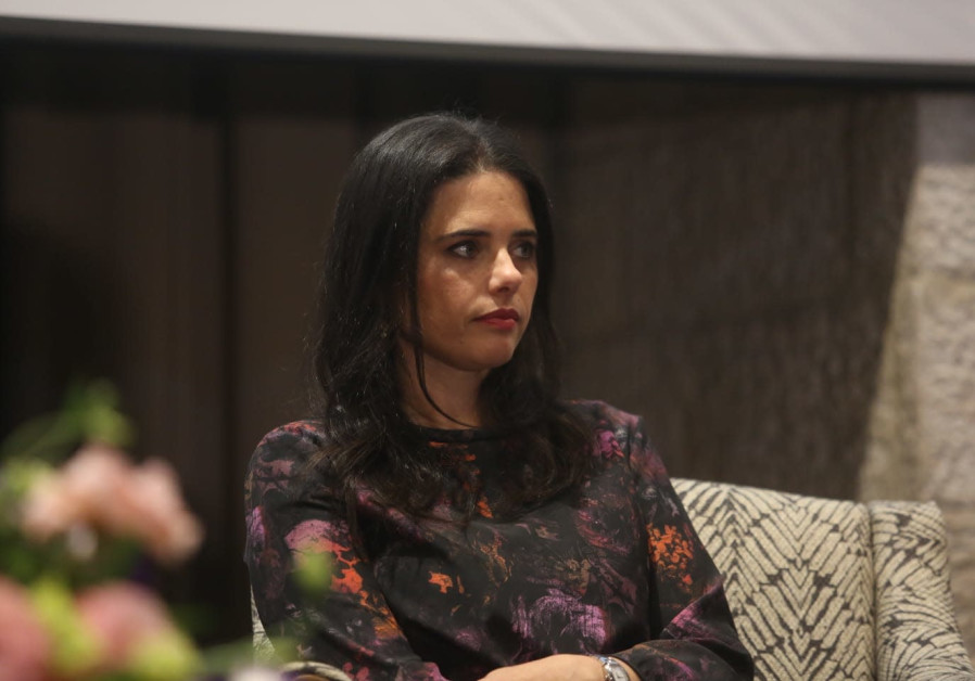 Ayelet Shaked at a meeting, January 17th, 2019