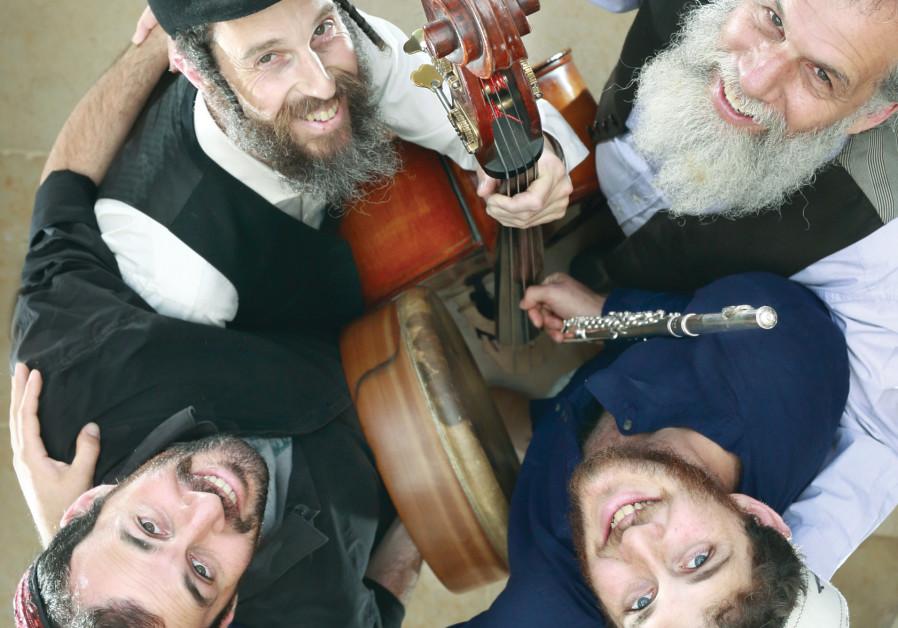 YEHUDAH KATZ (top right) and Hamaagal – an authentic post-Shabbat experience