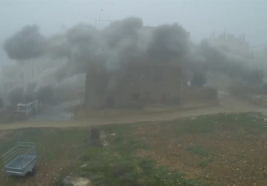 The IDF demolished the home of the terrorist who killed Ari Fuld