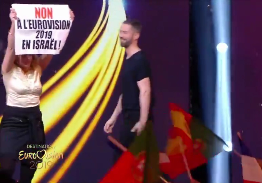 Netta Barzilai faces BDS protesters on French live TV - Israel News