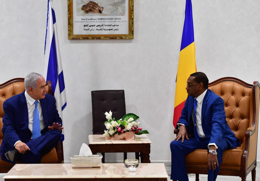 Israeli, Chad envoys meet in UN. following re-establishment of ties