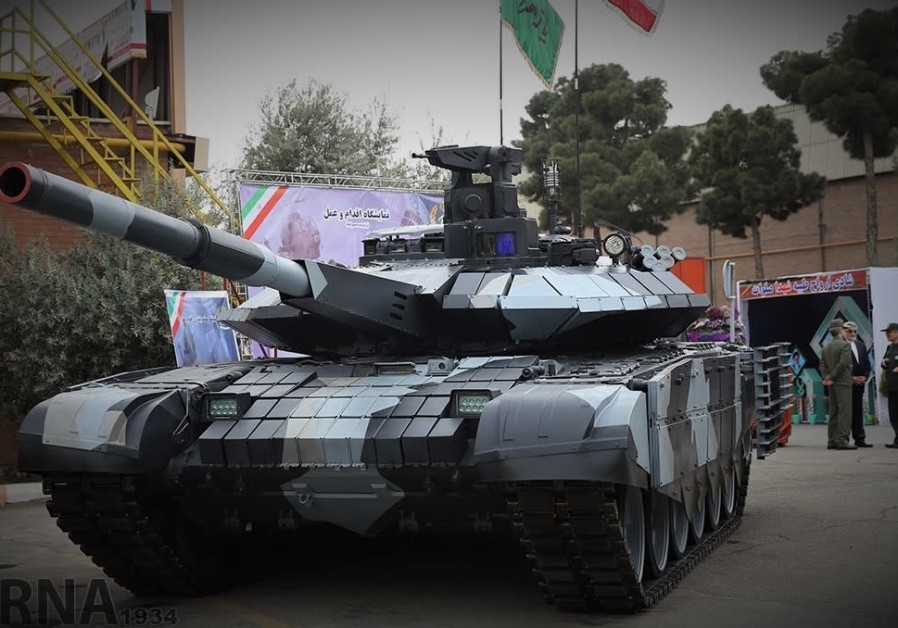 Iran says it has a new tank that equals the best in the world