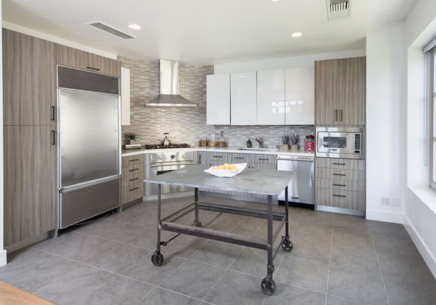 Kendall Jenner's kitchen (Zillow)