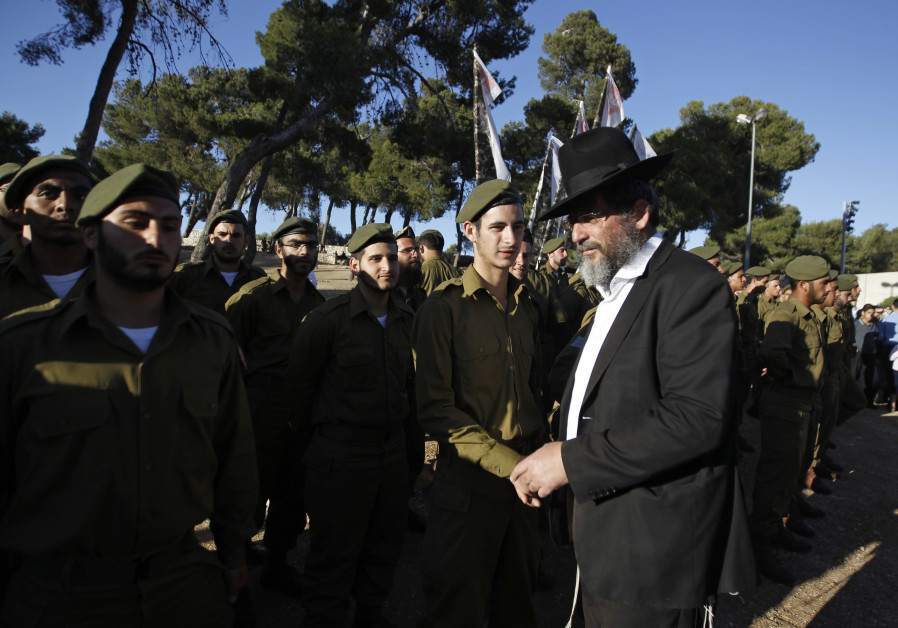 Establish haredi draft