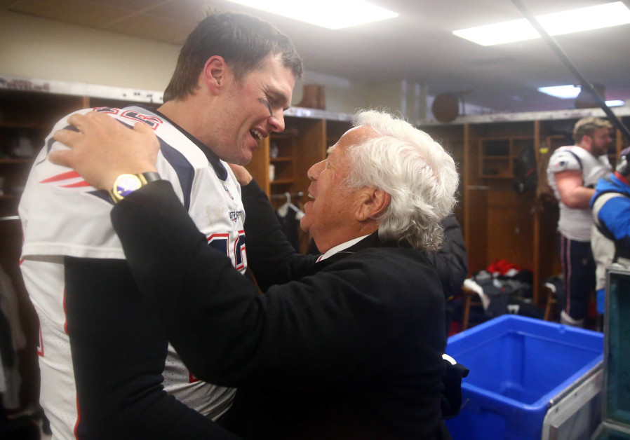Robert Kraft's New England Patriots beat Chiefs, advance to Super Bowl