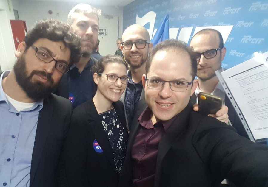 New Likudnik primaries candidates L-R Meiri, Klarman, Weisman-Simhony, Assaf Rothem, Hirshman