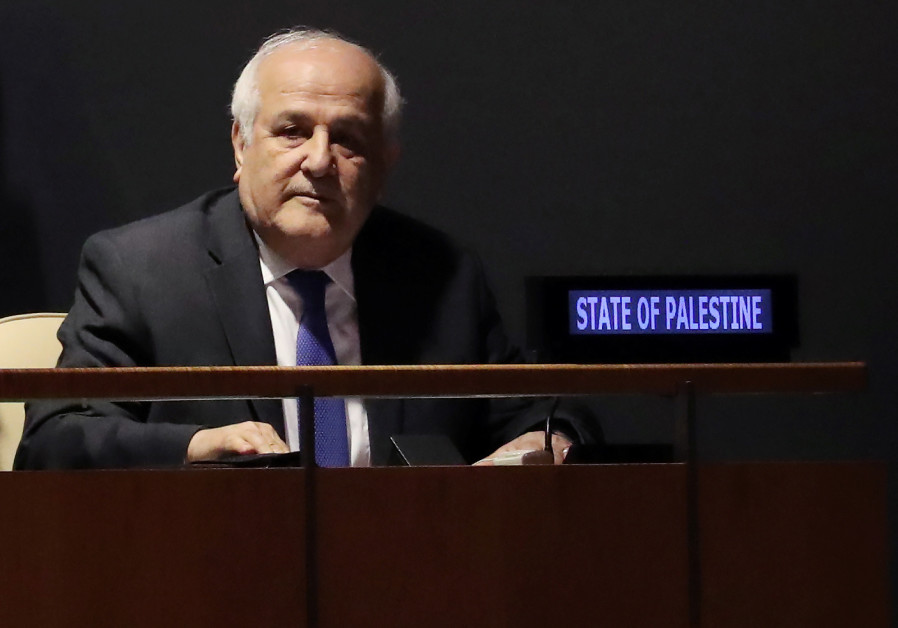 Palestinians push back at Trump, calls on UNSC to grant it statehood