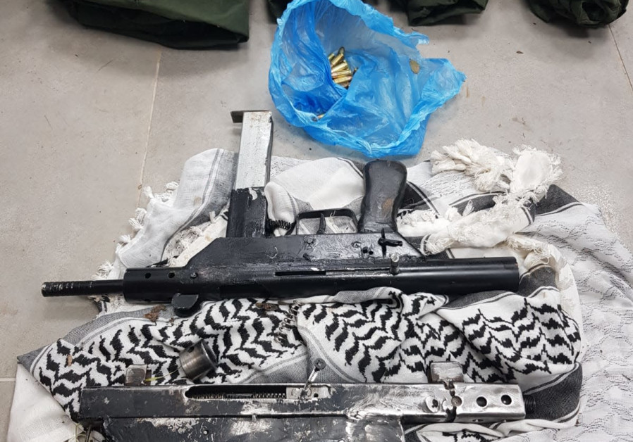 Illegal arms found near Hebron by IDF forces