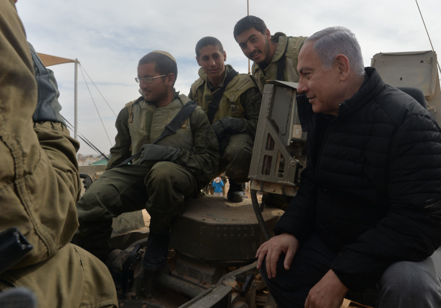 Judge bans Netanyahu from photos with IDF soldiers