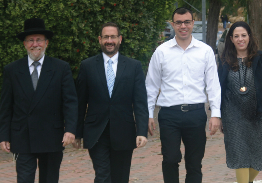 The haredi community steps out