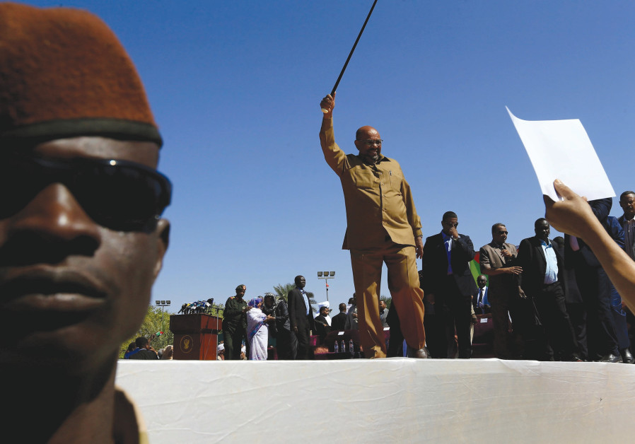 Sudan's military rulers say protest site threatens stability