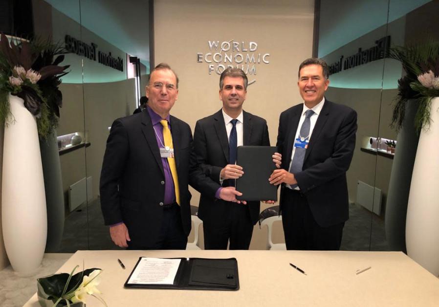 Deputy Head of the Economic Forum World Economy and Eli Cohen