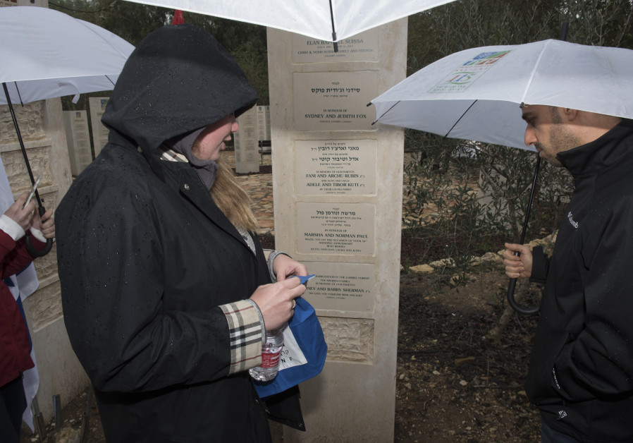 "JNF Toronto plants trees in Israel for Barry and Honey Sherman Z""L"