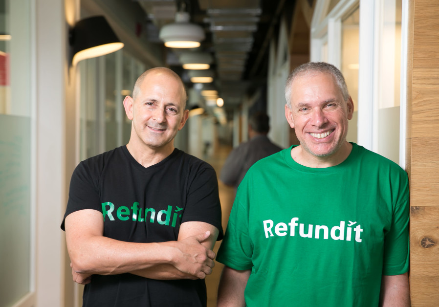 Uri Levine, Co-Founder & Chairman+Ziv Tirosh, Co-Founder and CEO, Refundit
