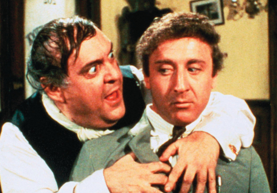 ZERO MOSTEL and Gene Wilder in 'The Producers'
