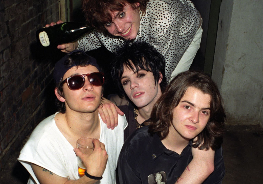 The Manic Street Preachers in the early 1990s with Richey Edwards (middle center)