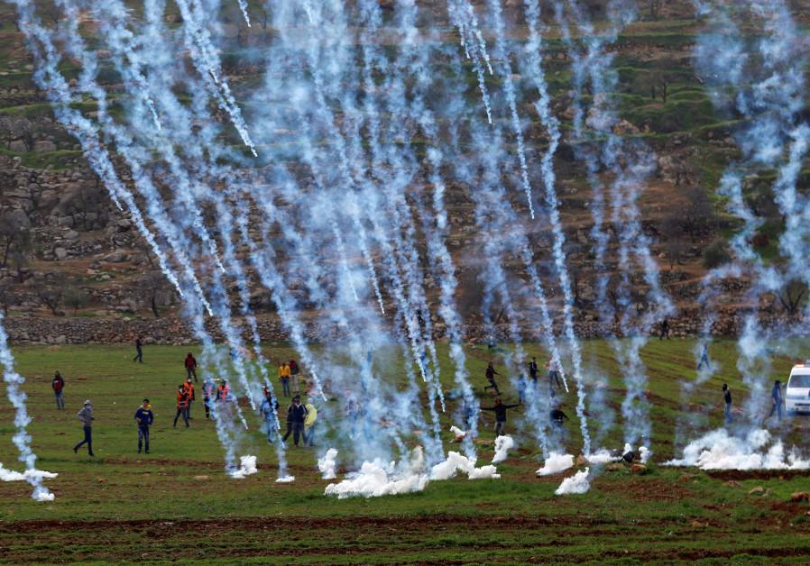 Palestinians, IDF clash in second day of violence near al-Mughayer
