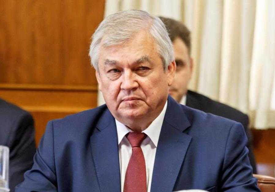 Russia's special envoy on Syria Alexander Lavrentiev