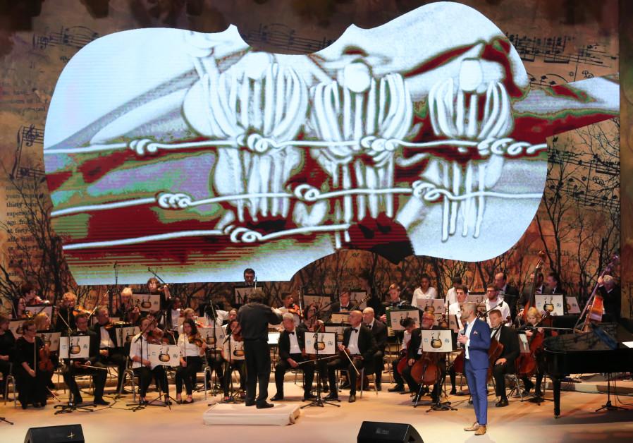 The Notes of Hope concert in Jerusalem in April 2018.