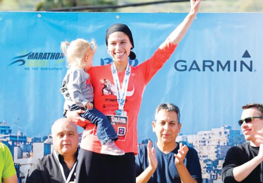 Ultra-orthodox woman wins marathon, making her first haredi to win internationally