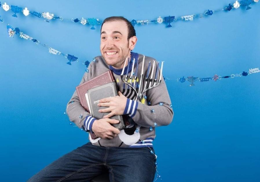 Eitan Levine, a rising Jewish comedian.
