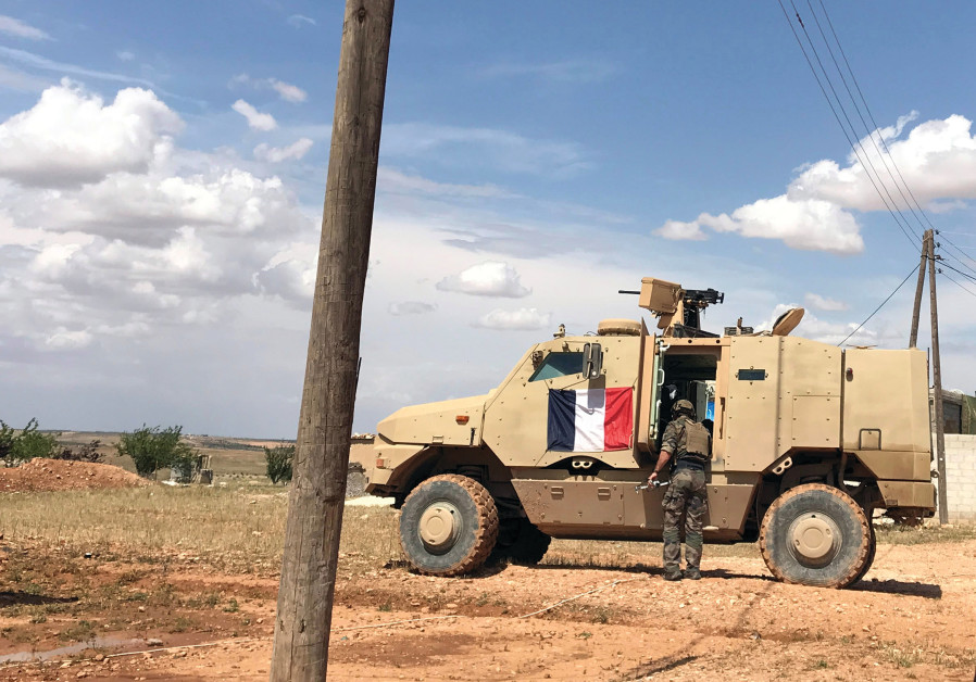 FRENCH FORCES in Syria.