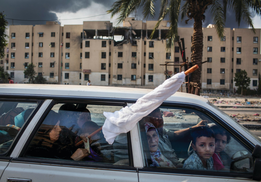 A SCENE FROM 'Gaza,' being screened at the Sundance Film Festival