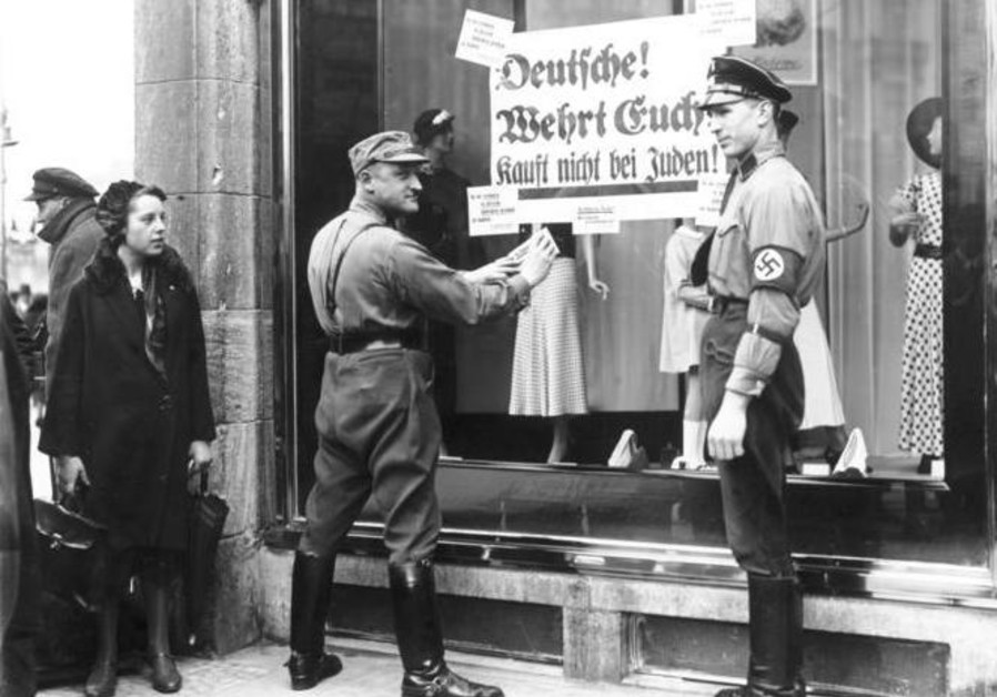 Nazi boycott Jews 1930s