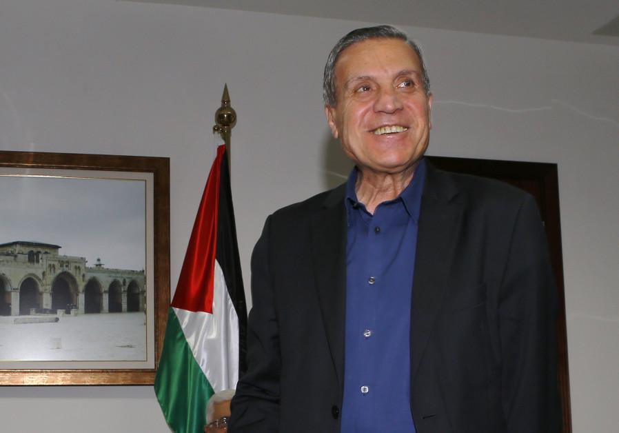 Palestinian official Nabil Abu Rudeineh