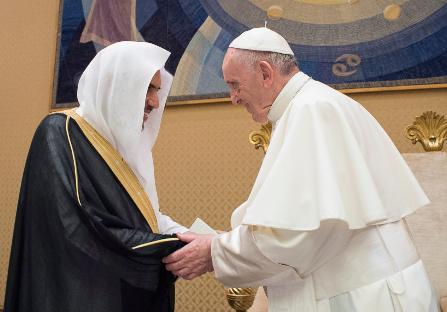 Pope Francis and Muslim leader