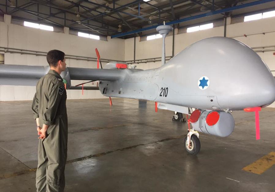 Israel Aerospace Industry's Heron TP drone