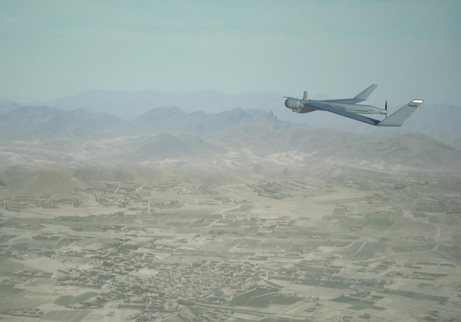 The Orbiter 1K drone.