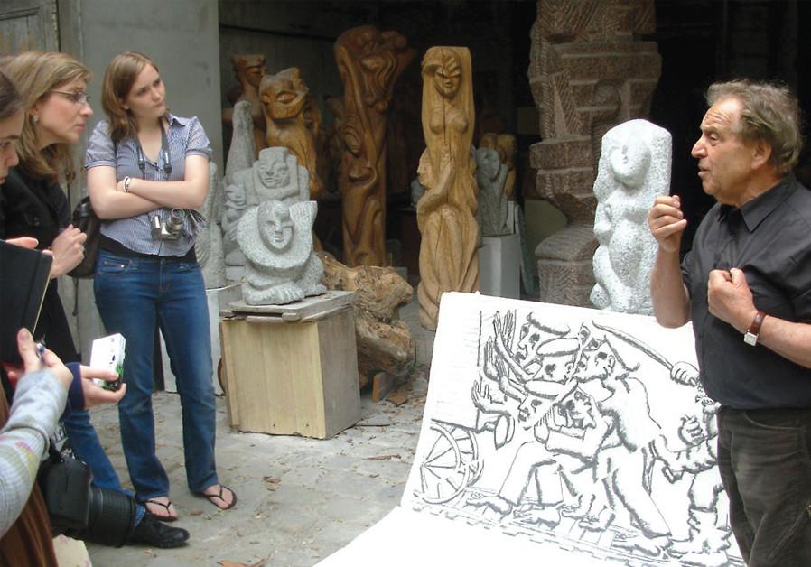 Holocaust survivor Shelomo Selinger's sculptures celebrate triumph of life