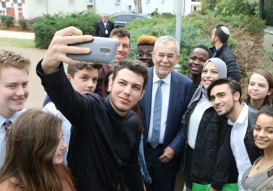 Austrian president says Givat Haviva brings 'message of hope to the world'