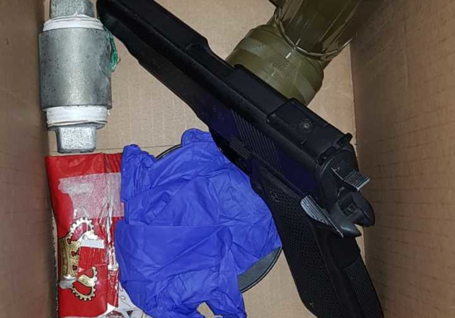 Palestinian arrested after explosive, weapons found in east Jerusalem home