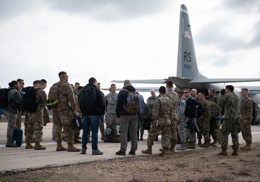 US Army soldiers arrive at Israel for preparations of the 2019 Juniper Falcon annual drill