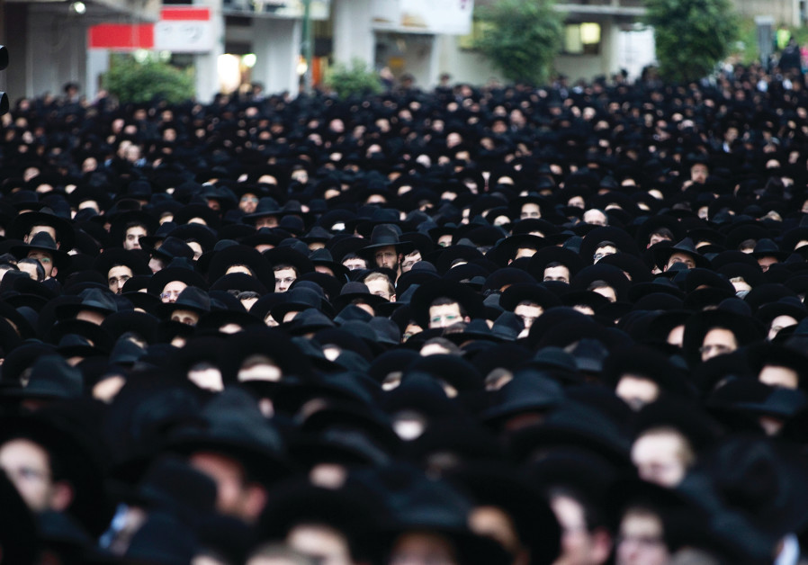 HAREDIM GATHER en masse in Bnei Brak. Is their leadership's political model sustainable?