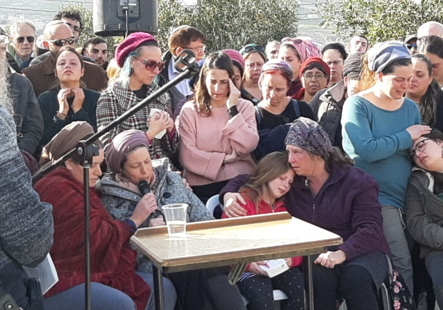 Palestinian Arabs visit family of terror victim Ori Ansbacher