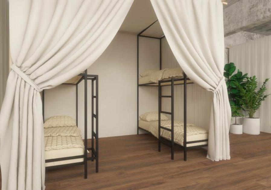 Israel's first 'pod hostel' to open in Tel Aviv in April