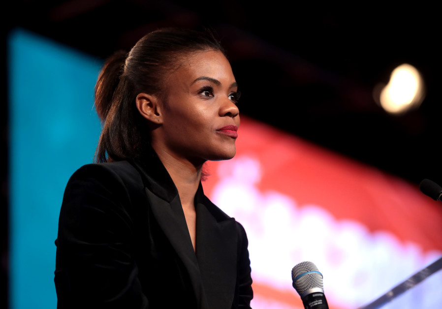 Candace Owens speaking with attendees at the 2018 Student Action Summit hosted by Turning Point USA.
