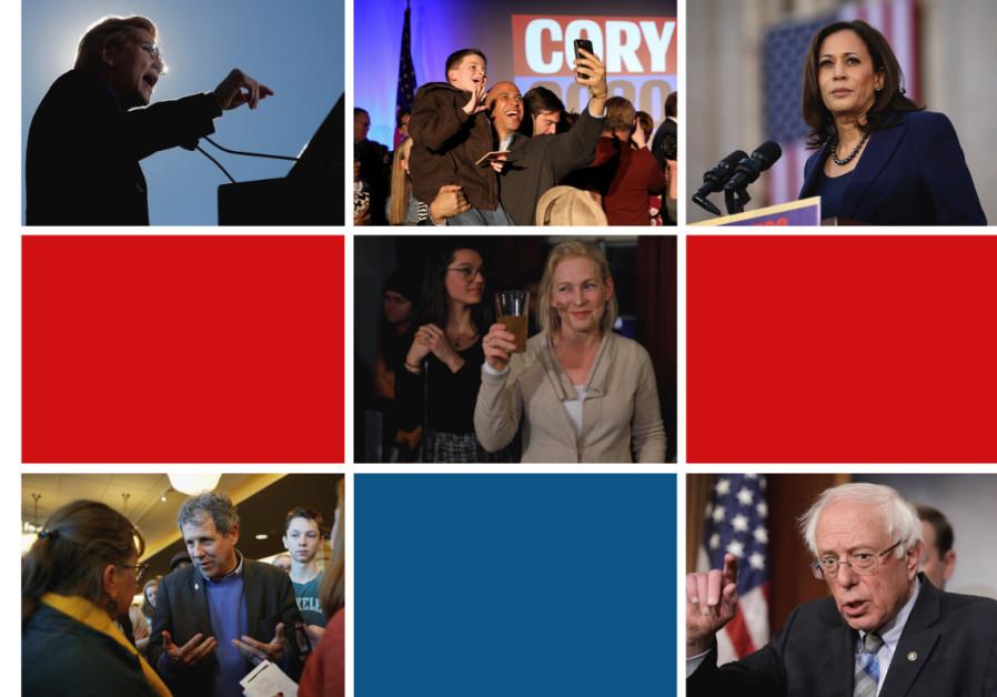 Democratic hopefuls who voted against recent anti-BDS legislation.