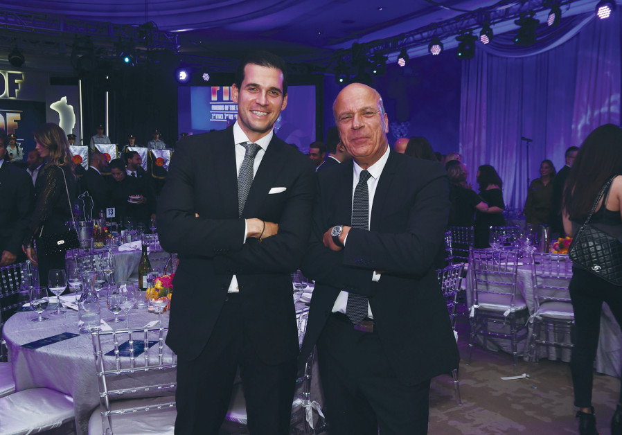OREN ALEXANDER (left) and Benny Shabtai.