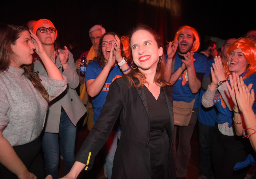 MK Stav Shaffir won the second most votes at the Labor primaries February 11, 2019