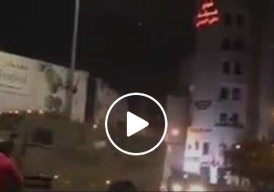 IDF soldiers are attacked in Ramallah.
