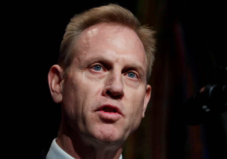 Acting U.S. Secretary of Defense Patrick Shanahan speaks during the Missile Defense Review
